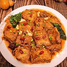 #营养小食光#小清新版少油红烧带鱼