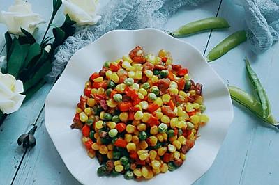 #童年不同样,美食有花样#黏甜玉米什锦