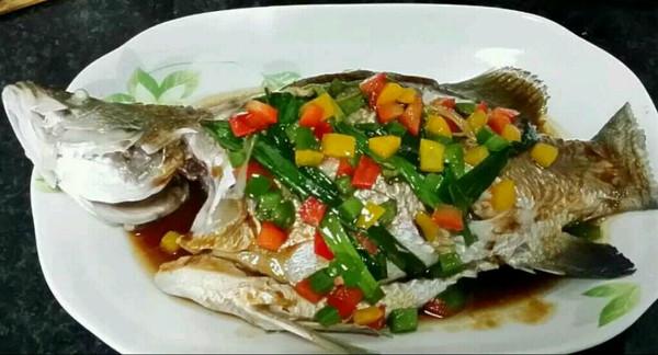 粤式清蒸鱼的做法