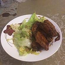 圆白菜炒虾皮