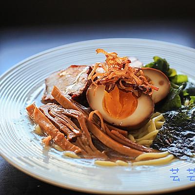 【芸芸小厨】日式叉烧肉——一碗面最温暖的伴侣