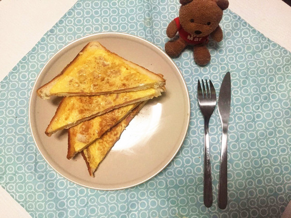 大龄文艺女青年的早餐:10分钟三明治的做法