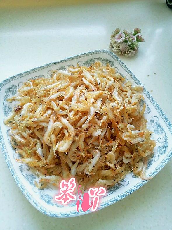 香酥小虾米的做法