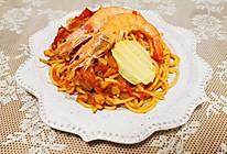 鲜虾芝士意大利面的做法