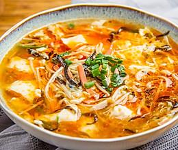 胡辣豆腐汤的做法