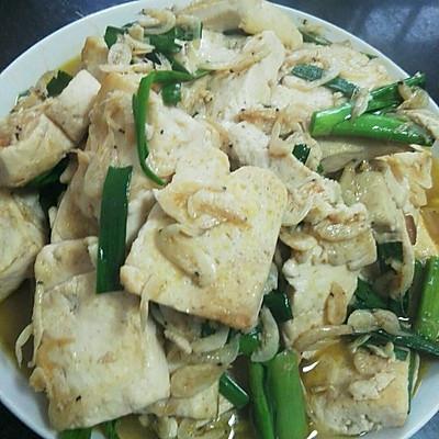 补钙虾皮豆腐