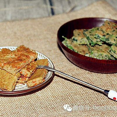 如何给宝宝正确吃猪肝,补铁食谱 | 猪肝蔬菜饼