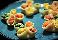 有家鲜厨房:冬至养生餐-四喜煎饺的做法