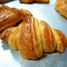 丹麦牛角起酥面包#甜面团