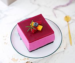 #炎夏消暑就吃「它」#火龙果慕斯蛋糕的做法