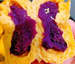 南瓜紫薯包的做法