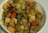 三色蔬菜的做法