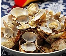 清炒花蛤的做法