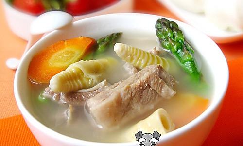 健康蔬菜排骨汤的做法