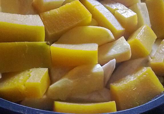 橙香番薯南瓜芋的做法
