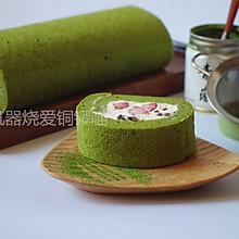 蜜豆草莓 抹茶蛋糕卷