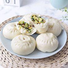 #憋在家里吃什么#香菇青菜包子