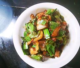 青椒五花肉的做法