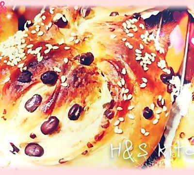「酥香」红豆面包卷