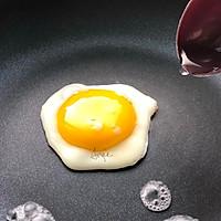 #硬核菜谱制作人#低卡黑麦豆乳贝果&萌物小太阳煎蛋的做法图解22
