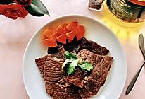 #白色情人节限定美味#烤牛肉片的做法