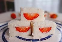 草莓牛奶小方的做法