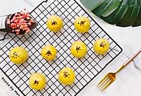 """假装是一颗""""蛋黄酥""""的土豆球#晒出你的团圆大餐#的做法"""