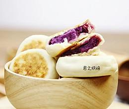少油少糖!香软紫薯饼的做法