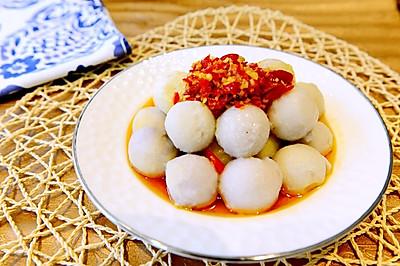 湘菜-剁椒蒸芋頭(剁辣椒蒸芋頭仔)