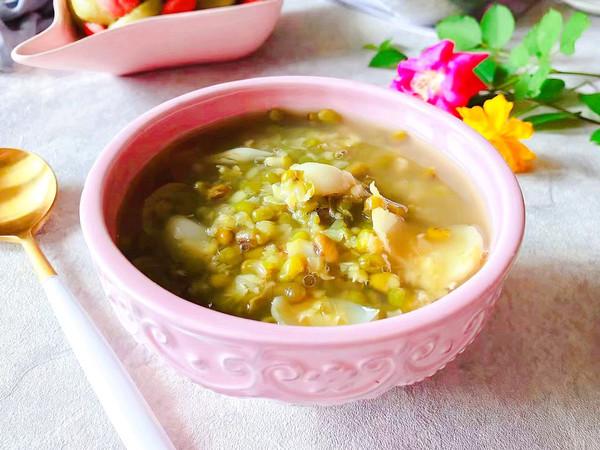 夏日解暑佳品-鲜百合绿豆汤的做法