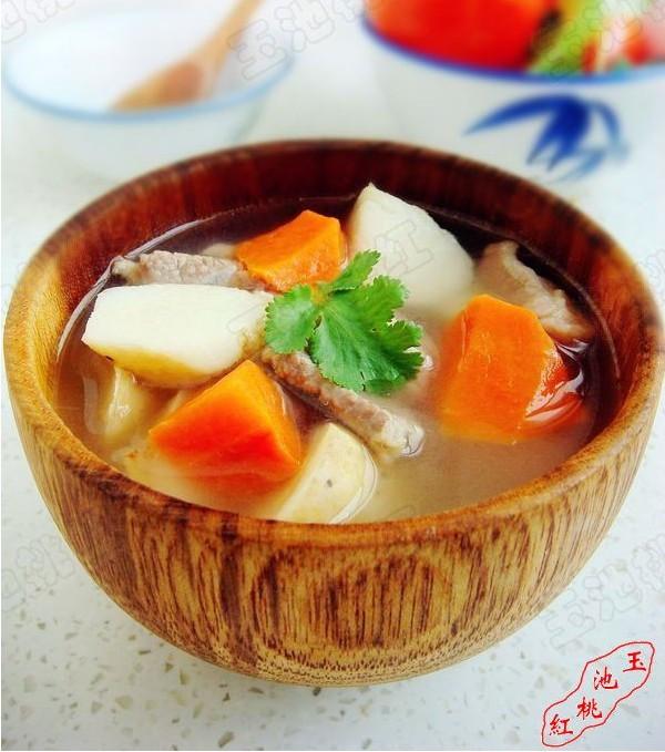 山药羊肉汤的做法