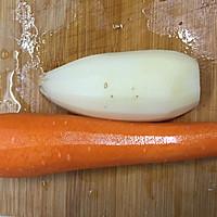 醋溜藕片的做法图解2