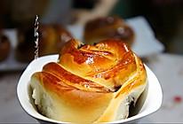 桑葚果酱花式面包#我的烘焙不将就#的做法