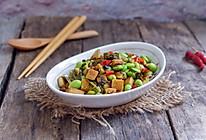 雪菜毛豆炒香干的做法