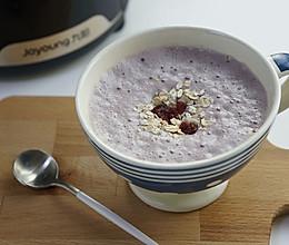 润肠紫薯燕麦糊的做法