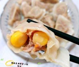 猪肉玉米胡萝卜馅饺子#馅儿料美食,哪种最好吃#