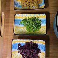#新春美味菜肴#黑橄榄菜脯炒饭的做法图解3