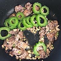 #多力金牌大厨带回家#金牌豉汁凉瓜炒牛肉的做法图解7