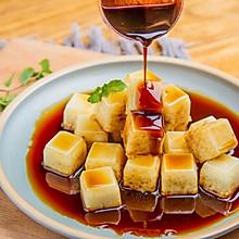 红糖豆腐冰