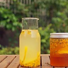 #夏日冰品不能少# 百香果柠檬蜜