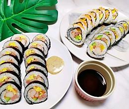 简单好上手~紫菜寿司卷~的做法