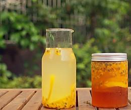 #夏日冰品不能少# 百香果柠檬蜜的做法