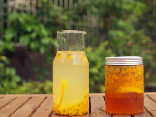 百香果柠檬蜜的做法