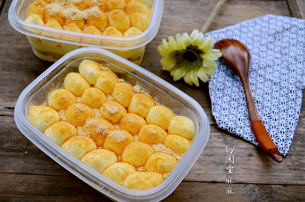 超详细零失败日式豆乳盒子蛋糕,好吃到要上天了~的做法