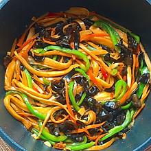 杏鲍菇神仙吃法,好吃到舔盘子的鱼香杏鲍菇