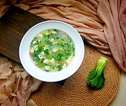 青菜豆腐羹的做法