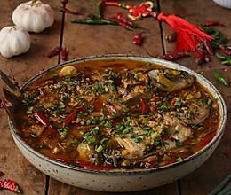 #福气年夜菜#年年有余的泡椒醪糟鲫鱼煲的做法