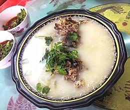 美味羊头汤的做法