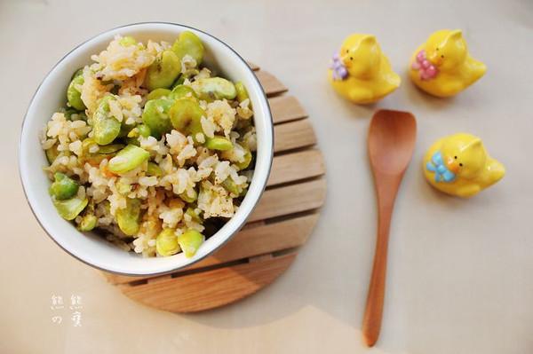 蚕豆米小炒饭的做法