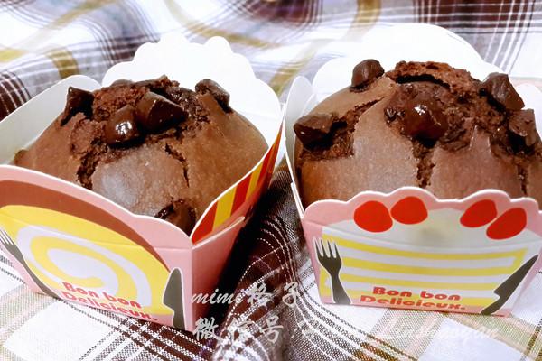 巧克力麦芬蛋糕(中岛老师的烘焙教室)的做法